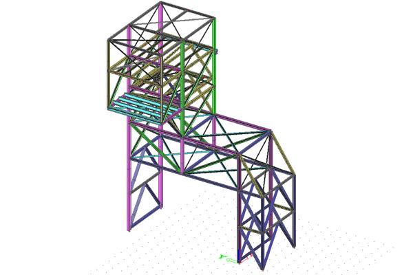 Projekt wykonawczy konstrukcji stalowych Belgia